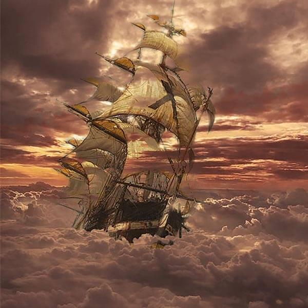 ספינה בענן - אמרי פרל